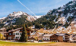 Najam Automobila Lech Am Arlberg, Austrija