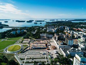 Najam Automobila Espu, Finska