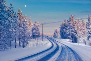 Najam Automobila Ivalo, Finska