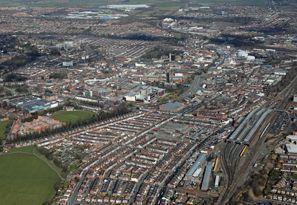 Najam Automobila Darlington, Velika Britanija