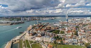 Najam Automobila Portsmouth, Velika Britanija
